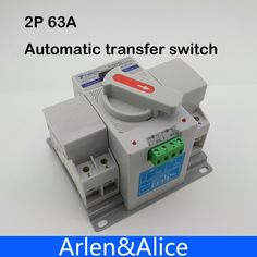 18.00$  Watch here - http://alij61.shopchina.info/go.php?t=1895170617 - 2P 63A 230V MCB type Dual Power Automatic transfer switch ATS 18.00$ #SHOPPING