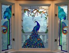 """Doors and Windows -- Colorful Windows from 2/18/13 blog, """"Glass Art for Your Home"""""""