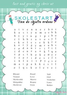 Printable Labels, Free Printables, 5th Grades, Diy And Crafts, Education, Tips, Grammar, First Grade, Summer Recipes