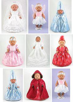 Dress Magic - Baby Born pattern