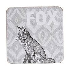 Queens Cork Queens Couture IKAT FOC Coasters, Multi-Colour Churchill - Game - Coasters - 10 x 10cm - Set of 4 - Fox Ikat (Barcode EAN = 5011109292611). http://www.comparestoreprices.co.uk/december-2016-5/queens-cork-queens-couture-ikat-foc-coasters-multi-colour.asp