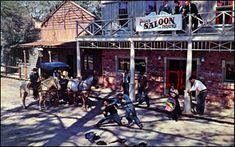 Gunfight show at the Six Gun Territory tourist attraction: Ocala, Florida