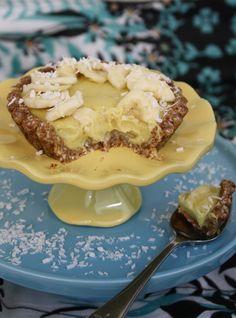 Raw vegan banana cream pie! #rawfood