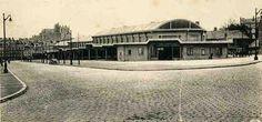 Halles de Talensac à l'issue de leur édification en 1936 Photos, Mansions, History, House Styles, City, Nantes, Painted Canvas, Travel, Pictures