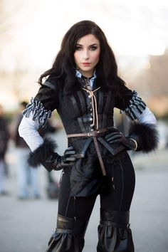 Yennefer cosplay from The Witcher. Thanks to Gautier Bld Photography for this one :). Nikita Cosplay, official G2A.COM partner.http://www.g2a.com/r/nikita1