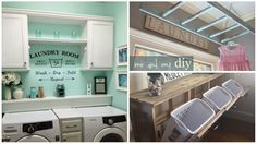 19 Laundry Room Ideas That Will Make You Actually WANT To Do The Laundry!