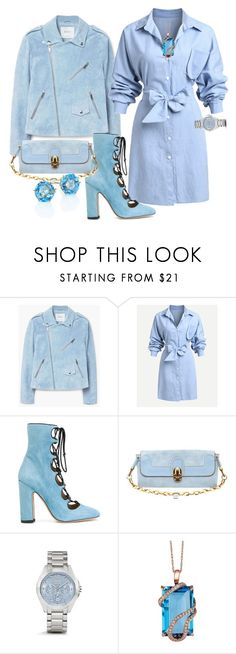 """""""From my blue heven"""" by blujay1126 ❤ liked on Polyvore featuring MANGO, Valentino, Chloé, Coach, LE VIAN and Ippolita"""