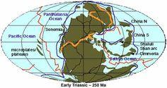 Early Triassic Landmass