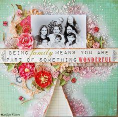My Creative Scrapbook- Being Family.... - Scrapbook.com