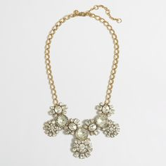 Factory crystal orb necklace : Necklaces | J.Crew Factory