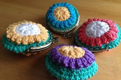 Free crochet coin purse pattern: top 5 free crochet bag patterns on the LoveCrochet blog!