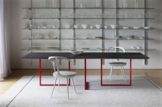 Awesome Concrete furniture: ideas for home decor, Gazelle table, Park Associati, Driade, 2012  