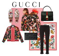 """Presenting the Gucci Garden Exclusive Collection: Contest Entry"" by nicolew0ng ❤ liked on Polyvore featuring Gucci and gucci"