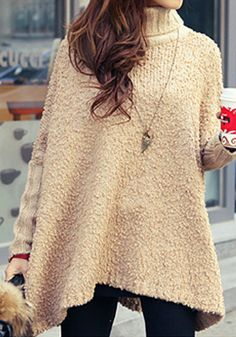 Hi-lo Popcorn Knitted Top
