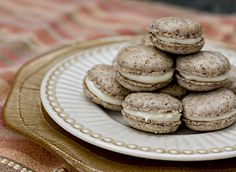 The Daring Bakers Practice Their French Kissing – Cinnamon and Cream Cheese Macarons   17 and Baking