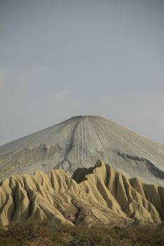 Chandar Gup - world's highest active mud volcano: Makran coastal highway, Balochistan, Pakistan. Photo by Shah Murad Aliani