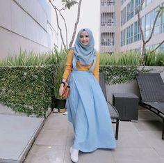 Best Ideas for moda casual summer maxi skirts Abaya Fashion, Muslim Fashion, Skirt Fashion, Summer Fashion Outfits, Modest Fashion, Trendy Fashion, Fashion Ideas, Style Fashion, Fashion Inspiration