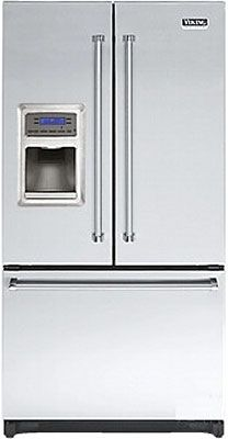 Big VCFF136DSS Viking Refrigerators For The Gourmet Kitchen