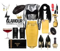 """""""SEXY DRESS"""" by nicks-1 ❤ liked on Polyvore featuring Balmain, Twin-Set, Forever 21, Moschino, Prada, Andrea Fohrman, Chanel, Goody, Anna Sui and Ove Decors"""