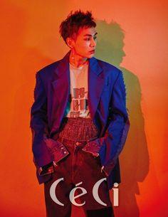 "BTOB's Ilhoon discusses his first solo album in ""CeCi"" Btob Ilhoon, Minhyuk, Korean Entertainment, Cube Entertainment, Btob Members, Rapper, Jung Jaewon, Ahn Jae Hyun, Boy Music"