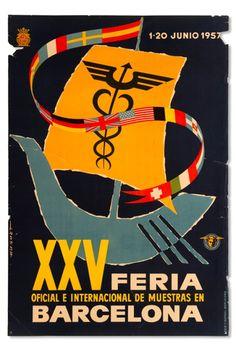 Une affiche créée par le graphiste catalan Enric Huguet (1928) Cada dia, un Objecte | Museu del Disseny de Barcelona