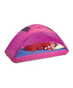 This Secret Castle Twin Bed Tent is perfect! #zulilyfinds
