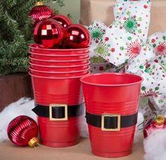 Santa DIY Party Cups
