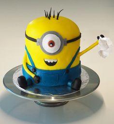 Minion bye bye cake