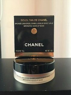 Soleil Tan De Chanel Bronzing Makeup Base Universal