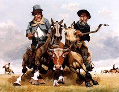Montefusco Rio Grande, Western Art, Horse Art, Wild West, Cowboys, Places To Travel, Westerns, Animation, Horses