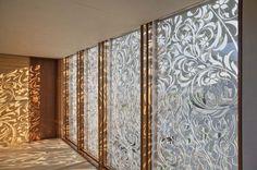 ornamental metal screens - Aamodt / Plumb Architects, Cambridge MA and Austin TX