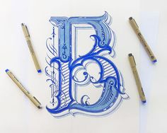 15 Beautiful Examples Of Hand Letting By Mateusz Witczak - UltraLinx