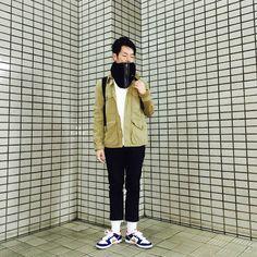 Y's Wardrobe: 【UNIQLO nonnative NIKE】ガンダムカラーのナイキスニーカーでいっきま〜す!!