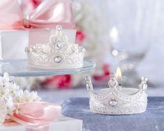 "princess wedding shower ideas | ... Tea Lights"" Jeweled Tea Lights (Set of Four Prince or Four Princess"