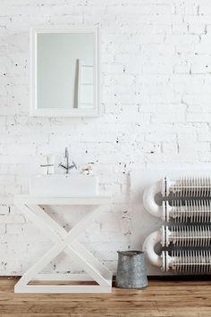 Konsola krzyżak - pod umywalkę - DWIEAGNIESZKI - Szafki pod umywalkę
