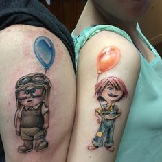 Young Carl and Ellie by Cory Hand at The Butcher, Savannah, GA - Imgur