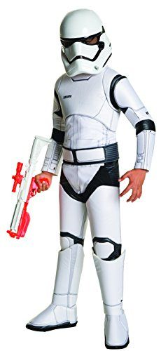 Star Wars: The Force Awakens Child's Super Deluxe Stormtrooper Costume, Small * Read more @