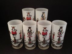 Barware Collection - GEORGE BRIARD - CHESS - HIGHBALL GLASSES