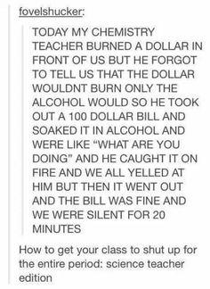 Science teacher edition