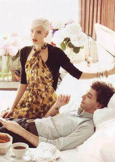 1000+ ideas about Agyness Deyn on Pinterest | Platinum Hair, Gender