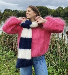 Plaid Scarf, Turtle Neck, Pullover, Womens Fashion, Sweaters, Pink, Jumpers, Clothes, Passion
