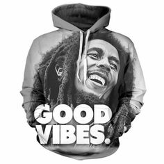 Hot New bob marley weed 3D Print Funny MensWomen Hoodie Sweatshirt Pullover tops