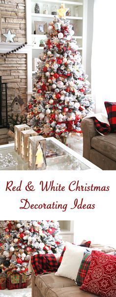 Red and White Holiday Home