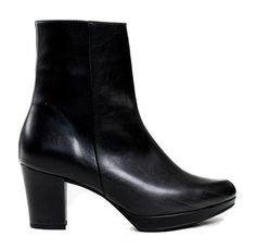 Stevie Platform Boot in Black from Bhava Ankle Booties, Bootie Boots, Vegan Boots, Platform Boots, Short Boots, Tall Boots, Vegan Leather, Me Too Shoes, High Heels