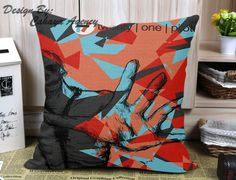 Twenty One Pilots Design M Pillow Case One Side/Two Side