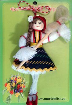 bg upload gallery large – Page 383439355768465352 – SkillOfKing. Yarn Crafts, Diy And Crafts, Baba Marta, Christmas Crafts For Kids, Christmas Ornaments, Fiber Art, Dolls, Holiday Decor, Fabric