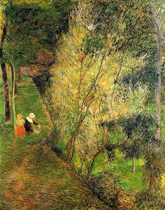 Paul Gauguin. #gaugin, #art, #green