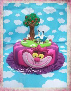 Alicia en el país de las maravillas. Alice in Wonderland the cake