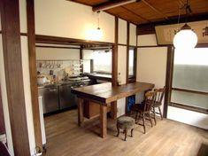 Super home studio vintage Ideas Cafe Interior, Apartment Interior, Kitchen Interior, Interior Design, Zen Interiors, Japanese Style House, Japanese Kitchen, Condo Decorating, Japanese Interior