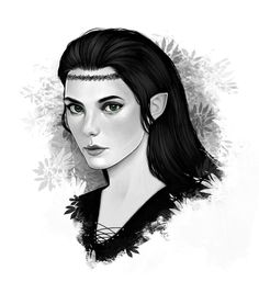 Eragon, arya. Just how I pictured her!